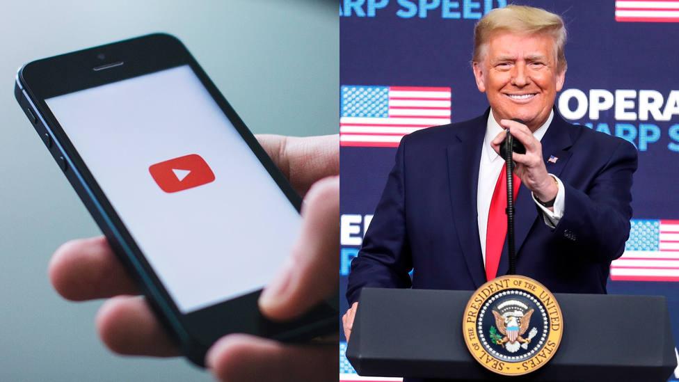 YouTube comenzará a eliminar vídeos que afirmen que Trump ganó las elecciones en EEUU