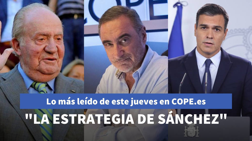Herrera destapa la estrategia de Sánchez pare evitar polémicas, entre lo más leído de este jueves