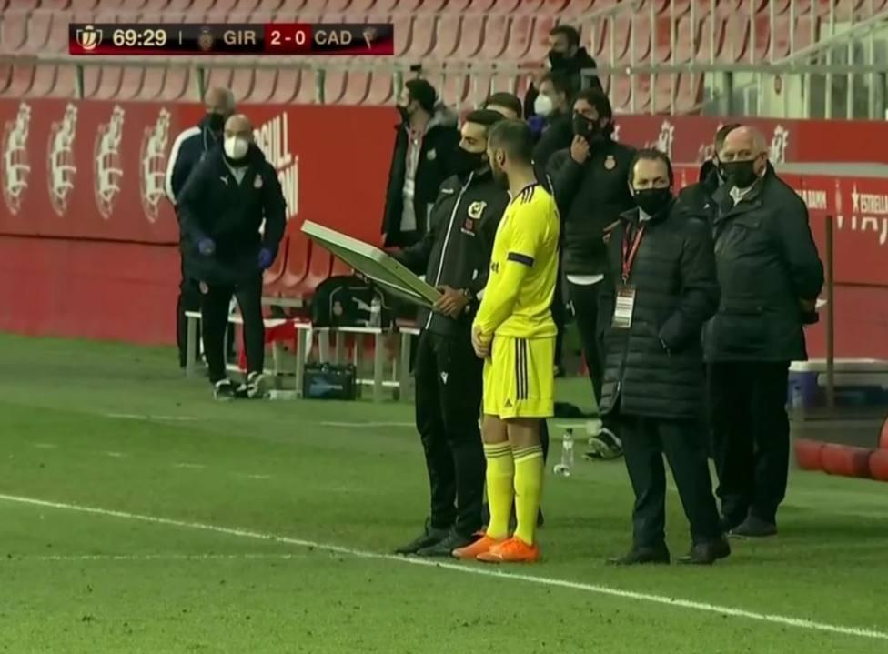 El Cádiz CF eliminado de Copa tras caer 2-0 contra el Girona