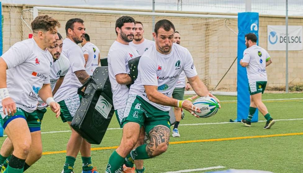 El Jaén Rugby jugará este sábado como local en el campo sevillano de La Cartuja