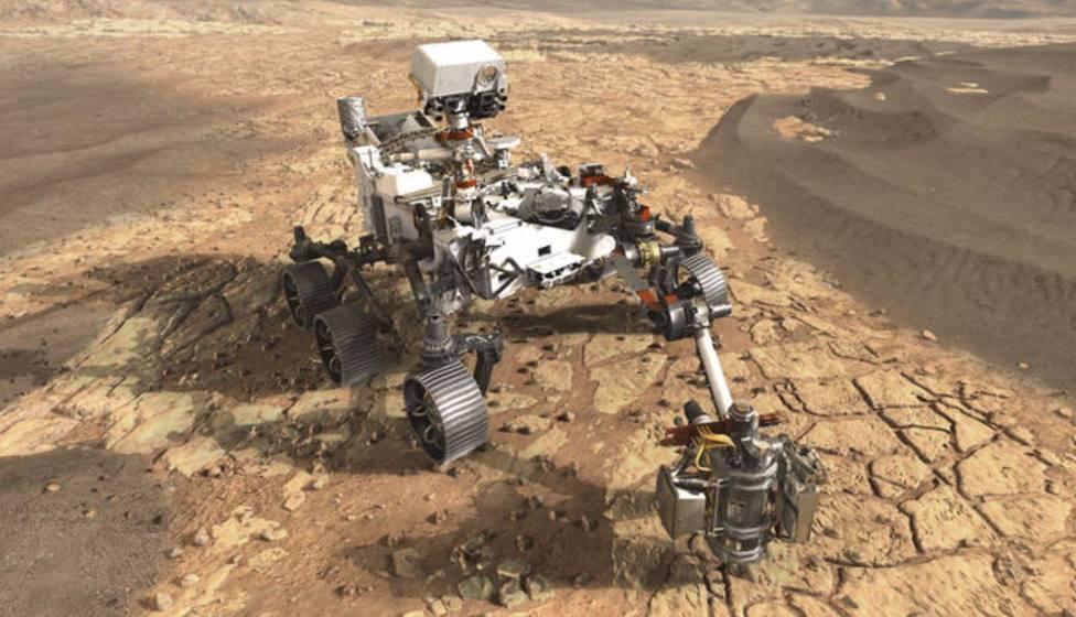 El rover Perseverance de la NASA en Marte envía un conjunto de sonidos de la superficie de Marte