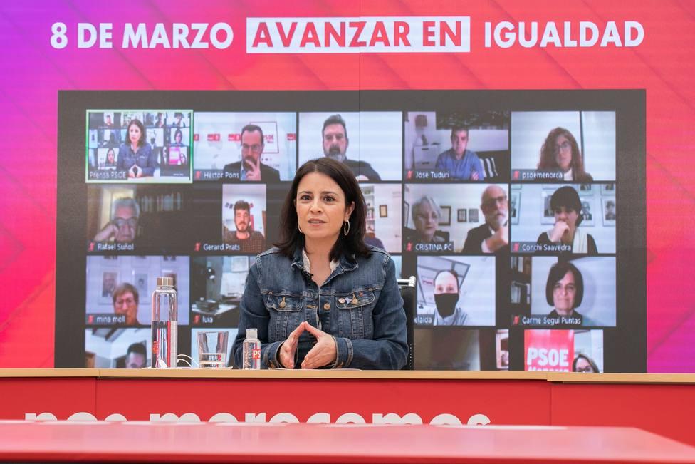 El PSOE defiende que la pandemia afecta más a la mujer y genera más obstaculos