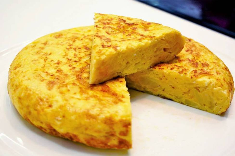 Tortilla de patata. Día mundial de la tortilla