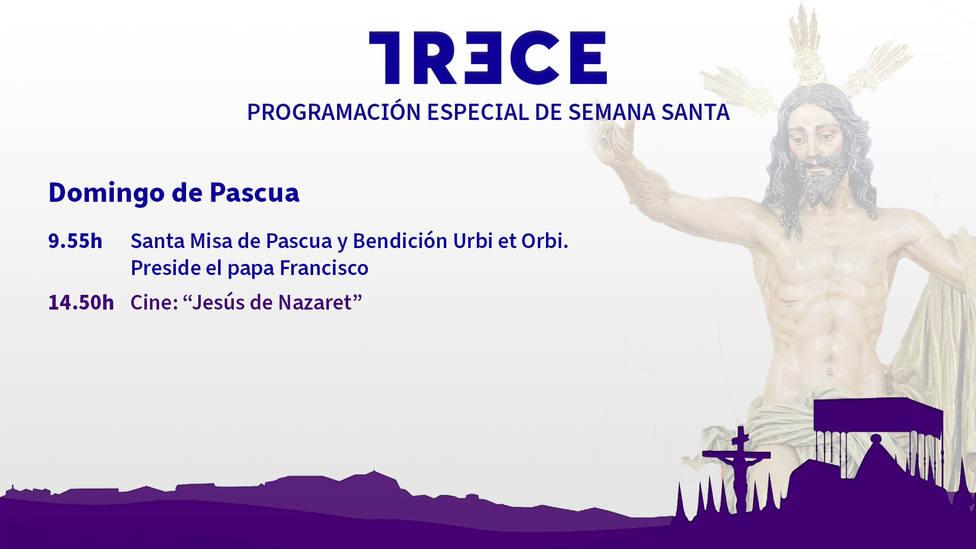 Este Domingo de Resurrección vive en TRECE la Bendición Urbi et Orbi que impartirá el Papa Francisco