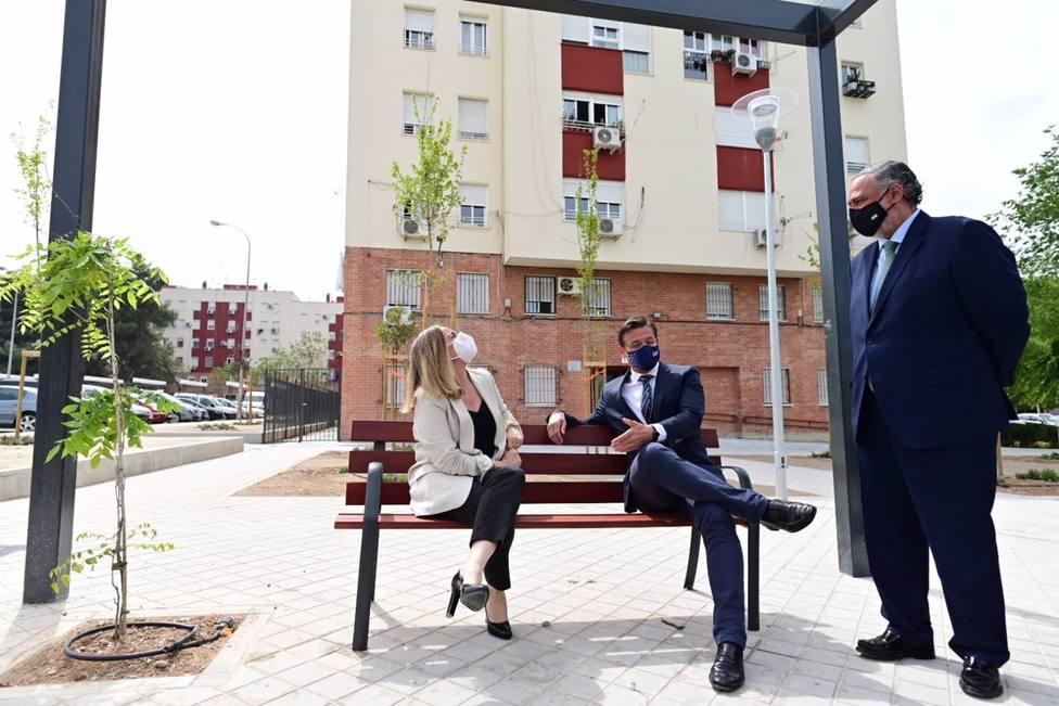 Granada.- Inaugurados los nuevos espacios públicos junto a la plaza María Josefa Recio