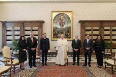 ctv-ttv-papa-con-el-presidente-del-libano