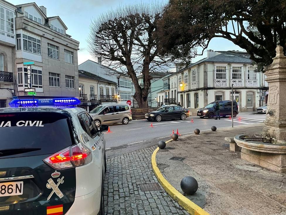 Ambos detenidos son vecinos de Vilalba