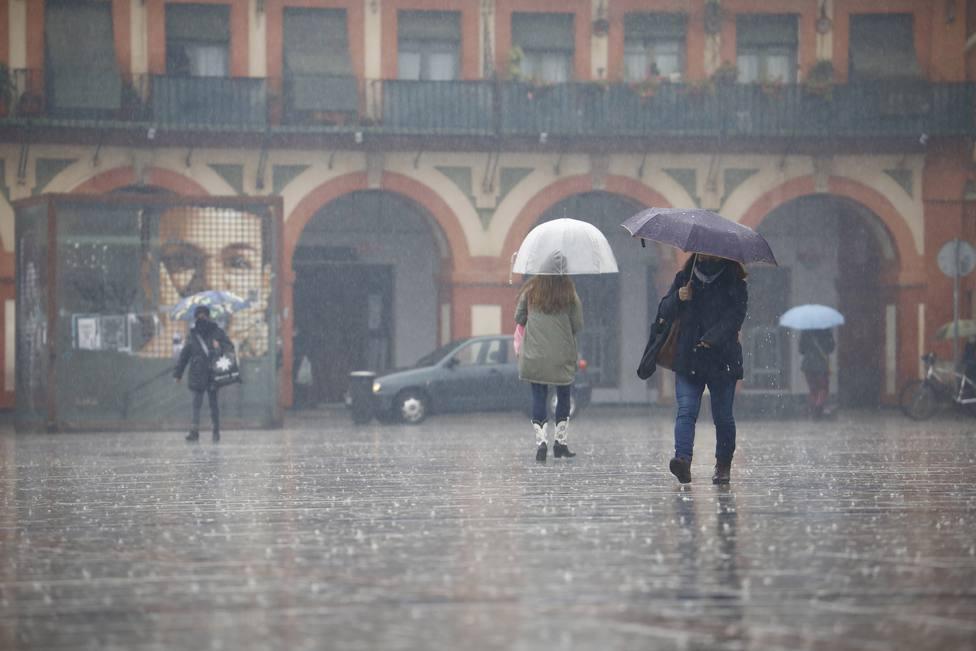 Lluvia en Córdoba