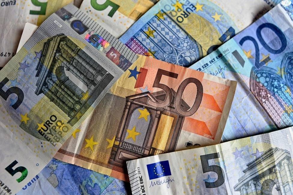 Pago en efectivo, en euros