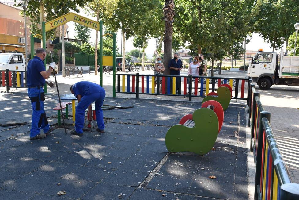 Parque del barrio de Patrocinio