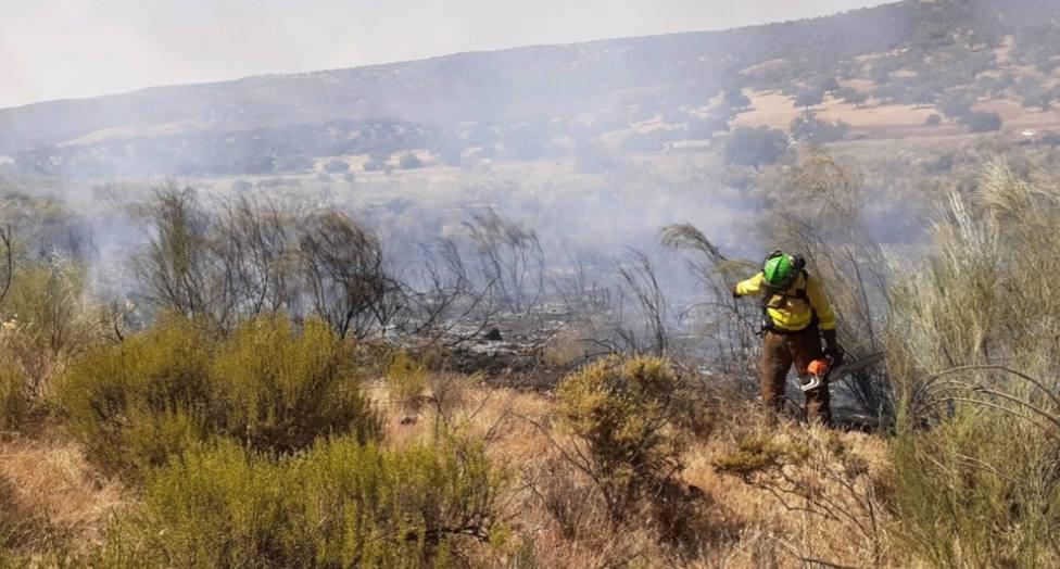 Declarado un incendio forestal en Sorbas