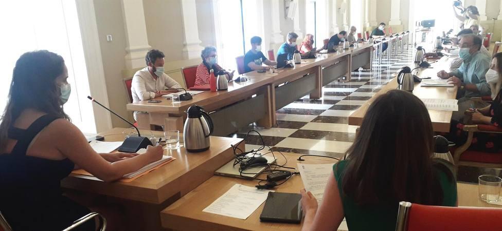 Comisión de Economía. Ayuntamiento de Cáceres