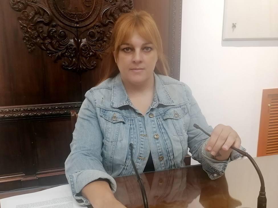 Gloria Martín, edil de IU Verdes
