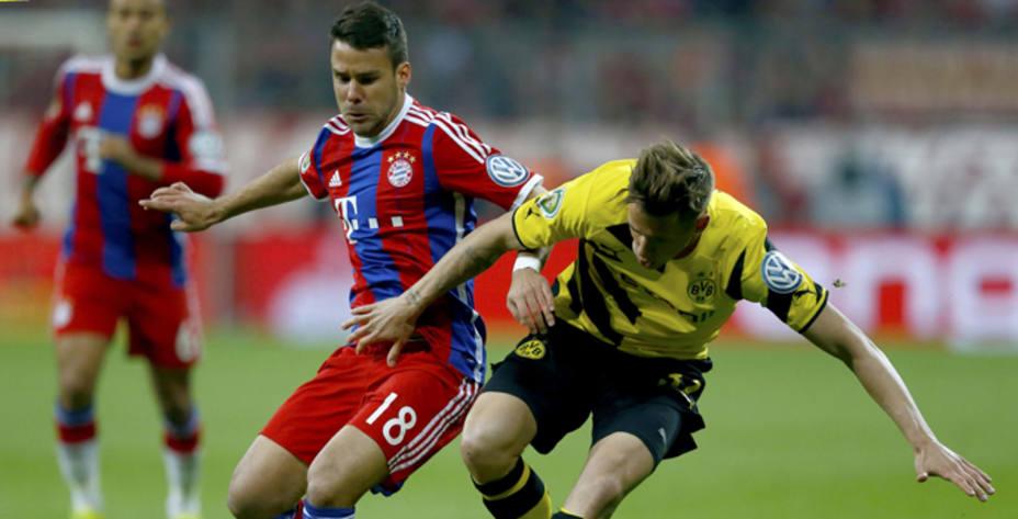 Bernat, protagonista de la previa del Barça-Bayern, en El Partido de las 12. REUTERS