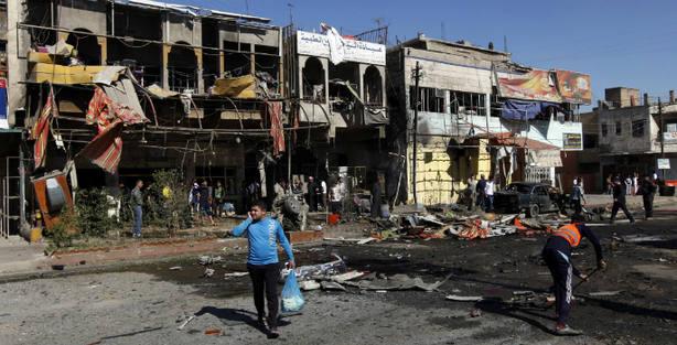 Al menos 8 muertos y 16 heridos en varias explosiones en Bagdad