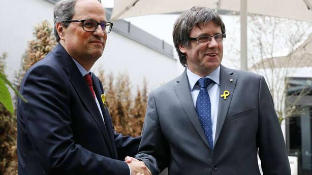 """Quim Torra: """"Rajoy, por favor, ponga la hora y el lugar para reunirnos"""""""
