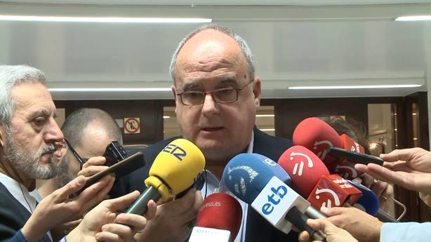 Egibar cree que Sánchez tiene decidido prorrogar presupuestos y le pide que cumpla los acuerdos que PNV cerró con PP
