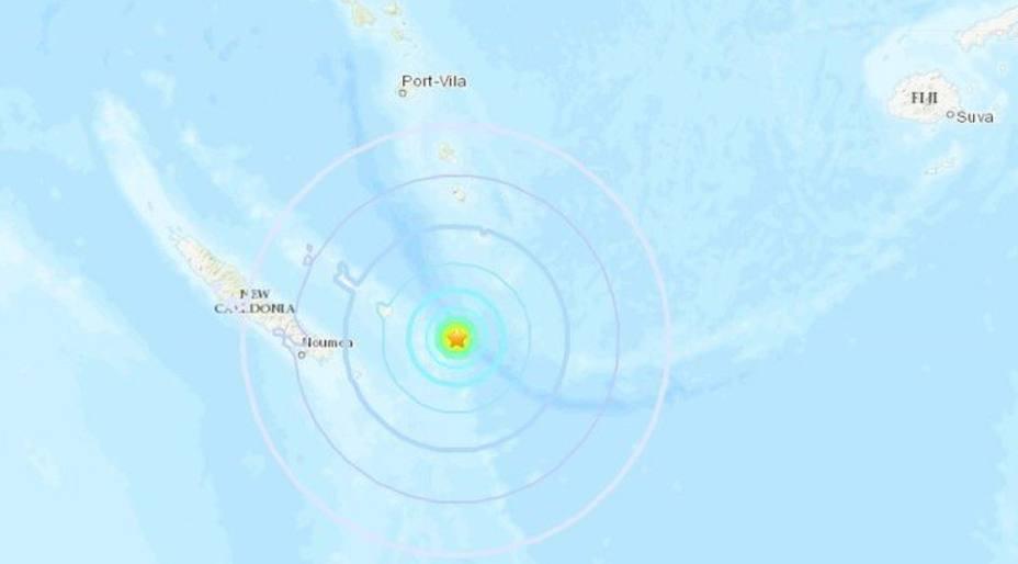Terrremoto de 7,5 grados en Nueva Caledonia