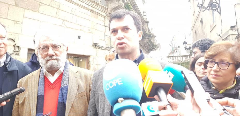 Bieito Ledo y Gonzalo Caballero