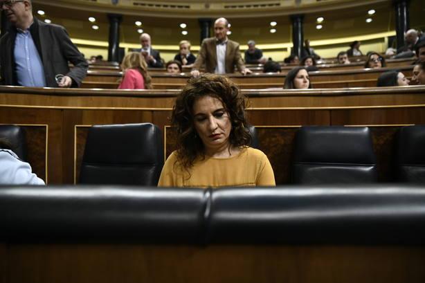 Montero: Me duele como progresista que se vote en contra de unos Presupuestos con mayor justicia