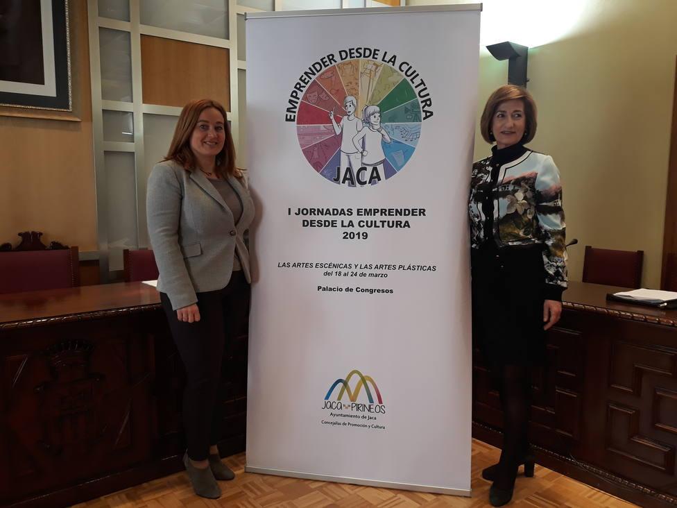 Olvido Moratinos y Teresa Lacasta