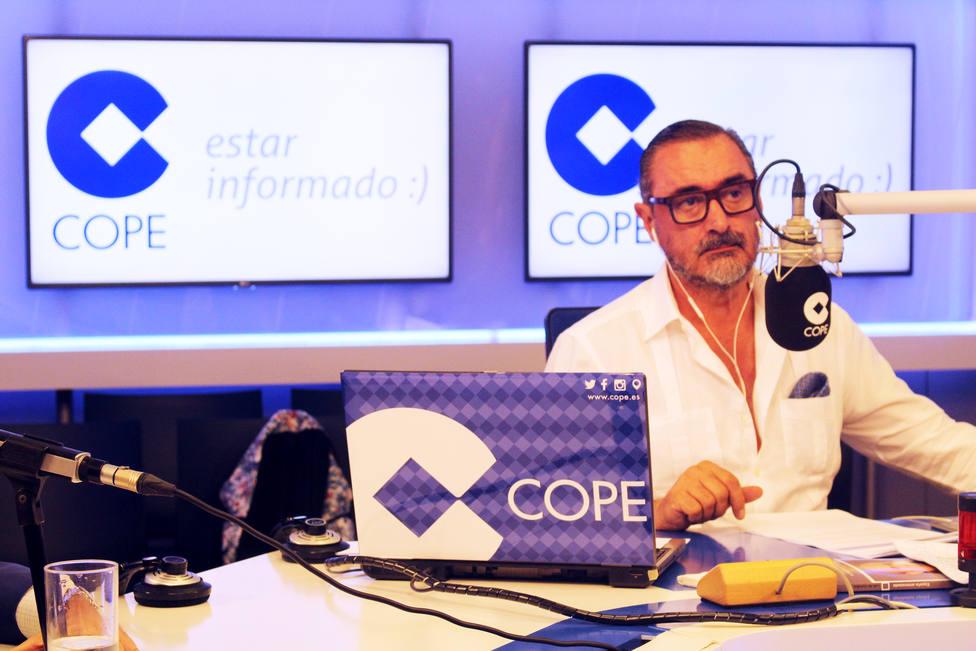 Carlos Herrera dirigirá el 'Especial Elecciones' en COPE en una jornada decisiva para España