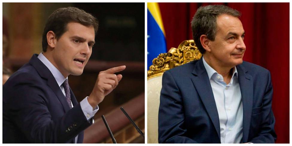 El Rivera más duro responde a Zapatero con esta sagaz acusación