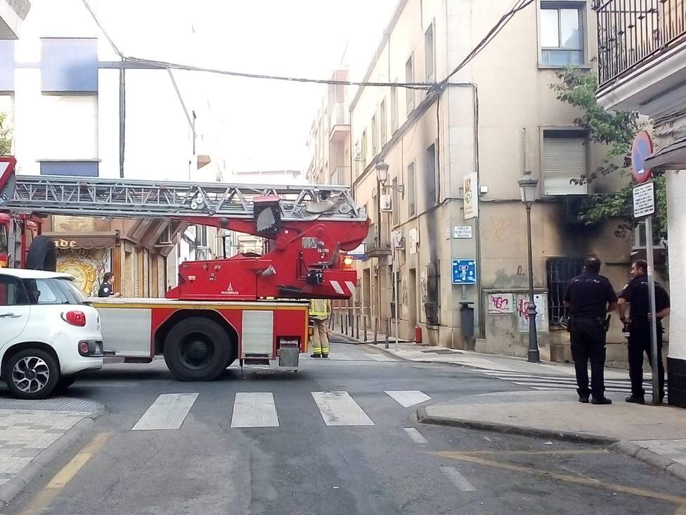 Incendio UGT Cáceres 3