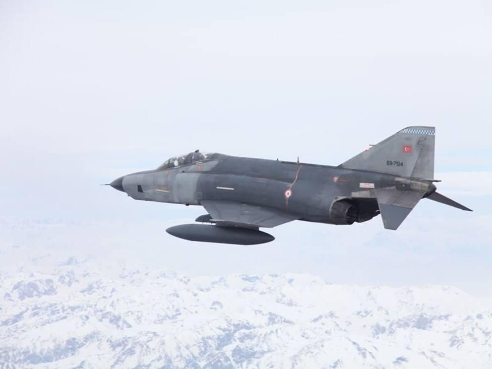 Turquía anuncia la neutralización de siete supuestos miembros del PKK en bombardeos en Irak
