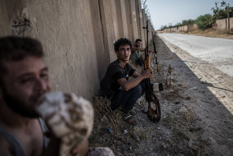 EEUU, Francia, Italia, Reino Unido y Emiratos piden un alto el fuego sostenible en Libia