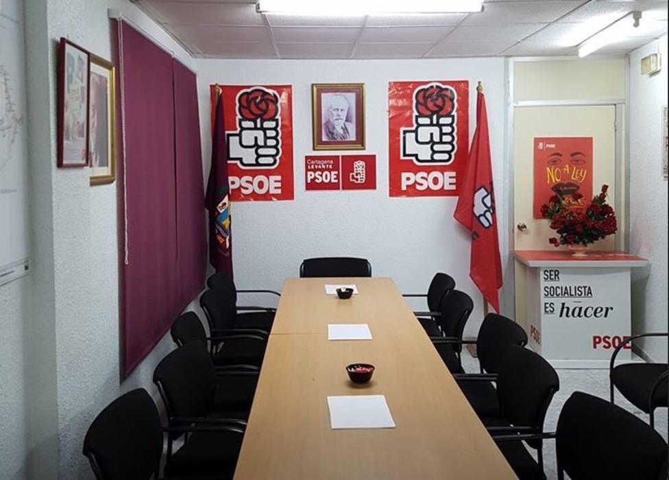 El 70% de la agrupación Cartagena Levante abandona el Partido Socialista