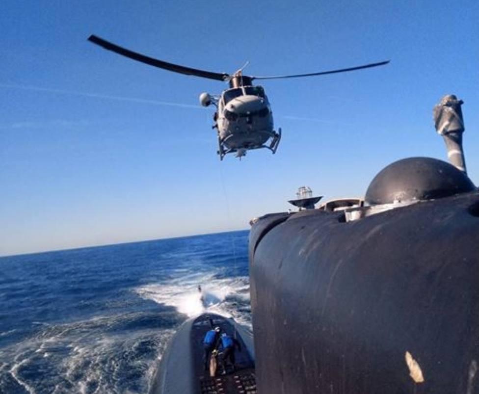 La Fuerza de Guerra Naval Especial finaliza sus adiestramientos específicos en Cartagena