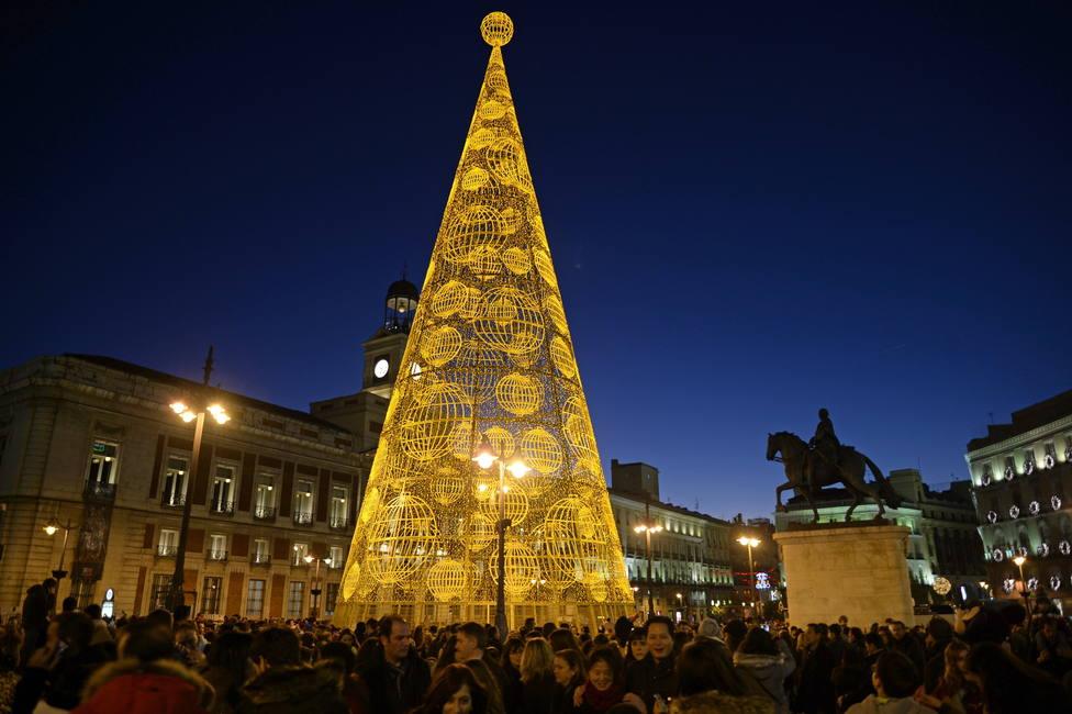 ¿Cuándo se encienden las luces de Navidad en Madrid?