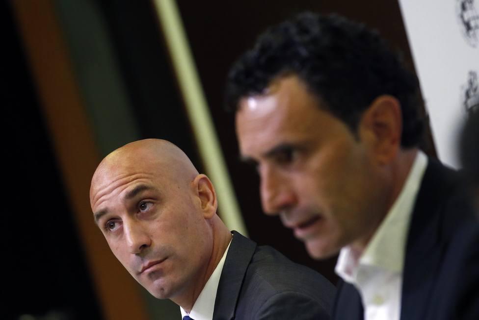 Rueda de prensa de Molina, nuevo director deportivo de la RFEF
