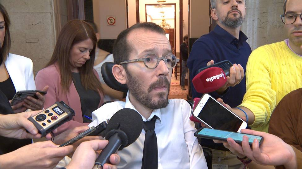 Echenique asegura que el coronavirus está controlado en España y arremete contra el alarmismo de los medios