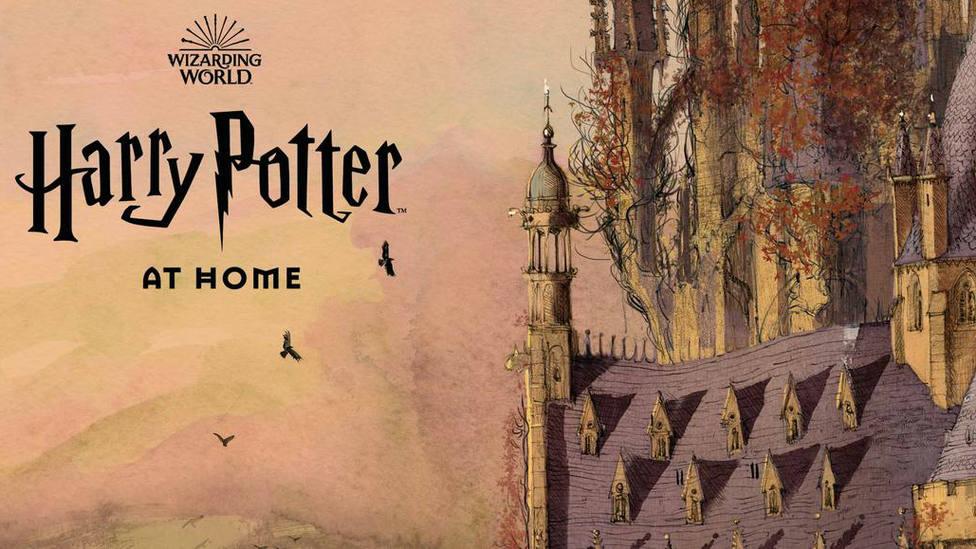 "Nace la web ""Harry Potter en casa"" para hechizar al coronavirus"