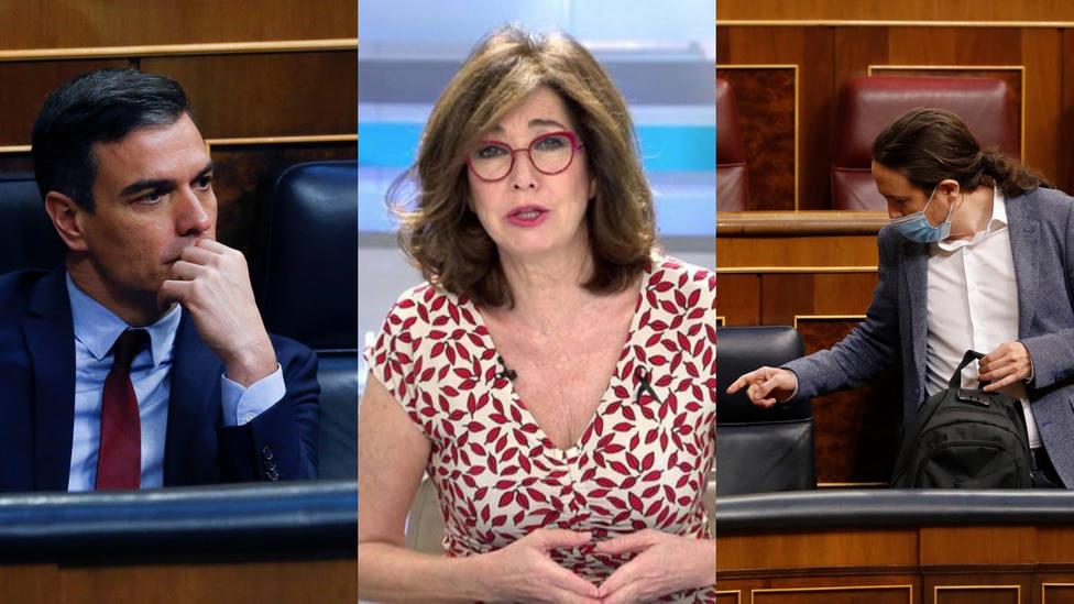 """Ana Rosa estalla contra Sánchez e Iglesias: ¡Déjense ustedes de tonterías y de luchas políticas ruines!"""""""