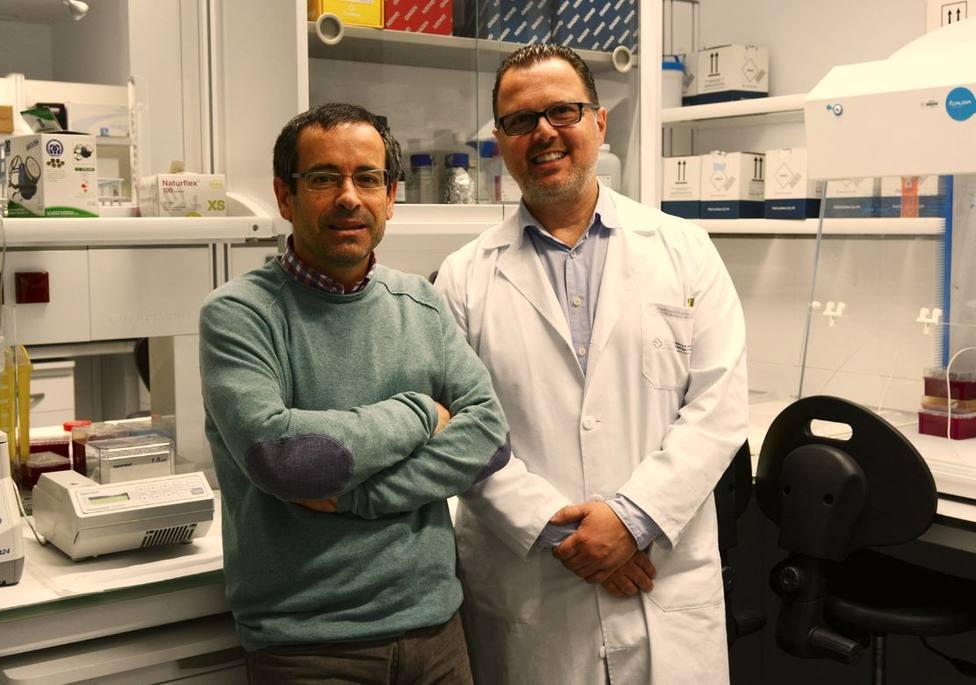 Antonio Salas y Federico Martinón