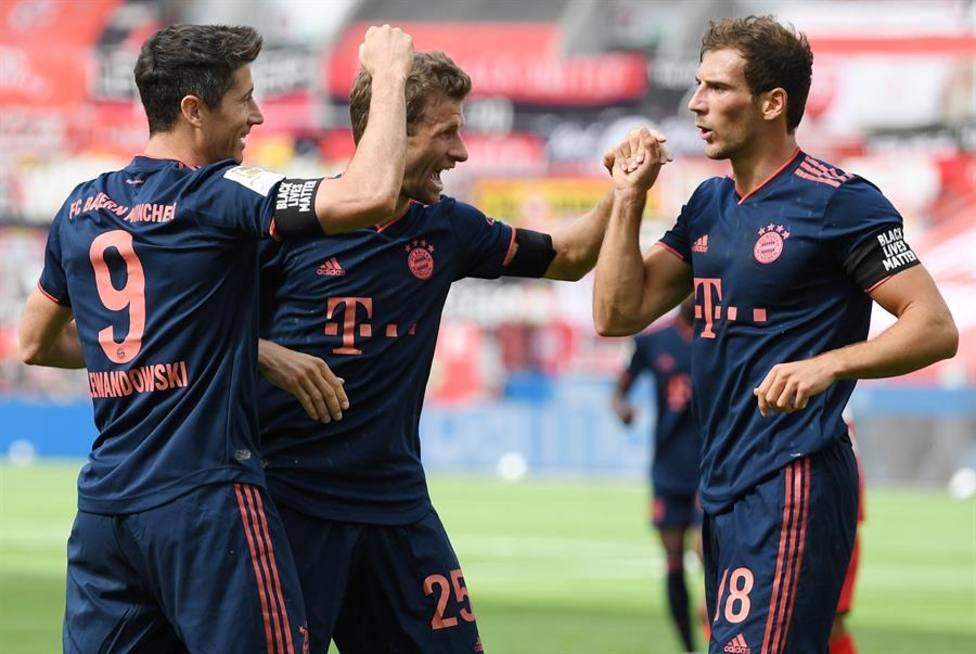 El Bayern sigue intratable hacia el título