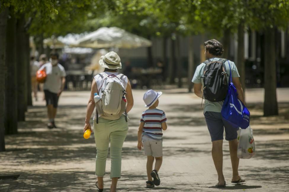 El primer fin de semana de vacaciones nos deja altas temperaturas en Andalucía