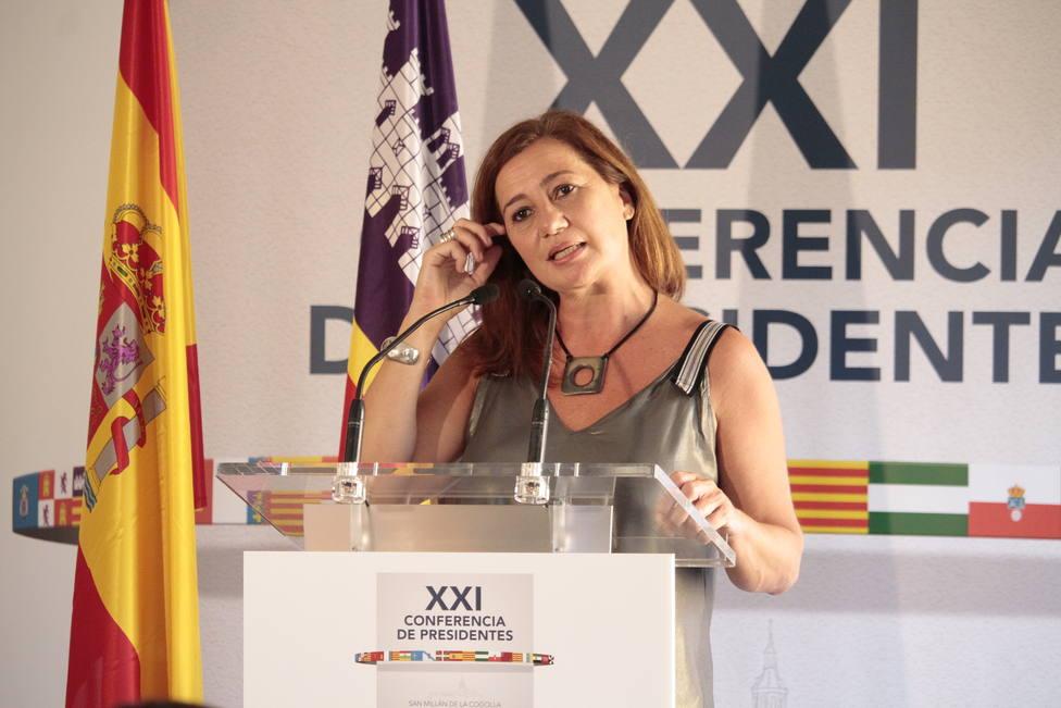 Armengol dice no a un nuevo confinamiento en Baleares a pesar de estar preocupada por la pandemia