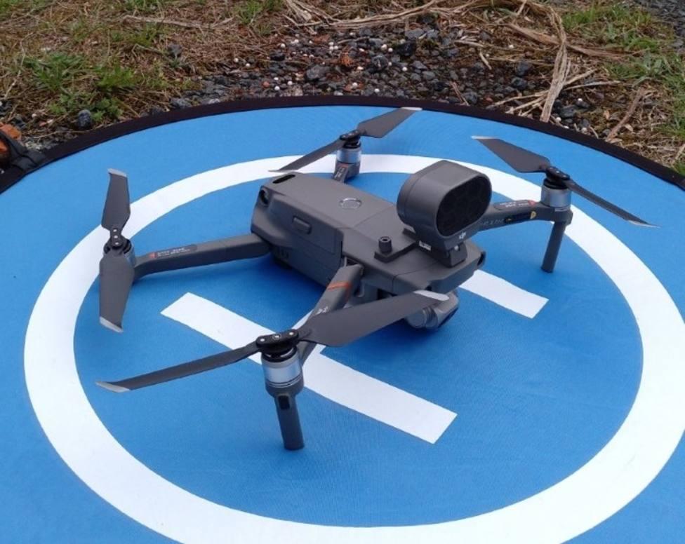 Nuevo dron con cámara térmica para el Cuerpo de Bomberos de Ferrol