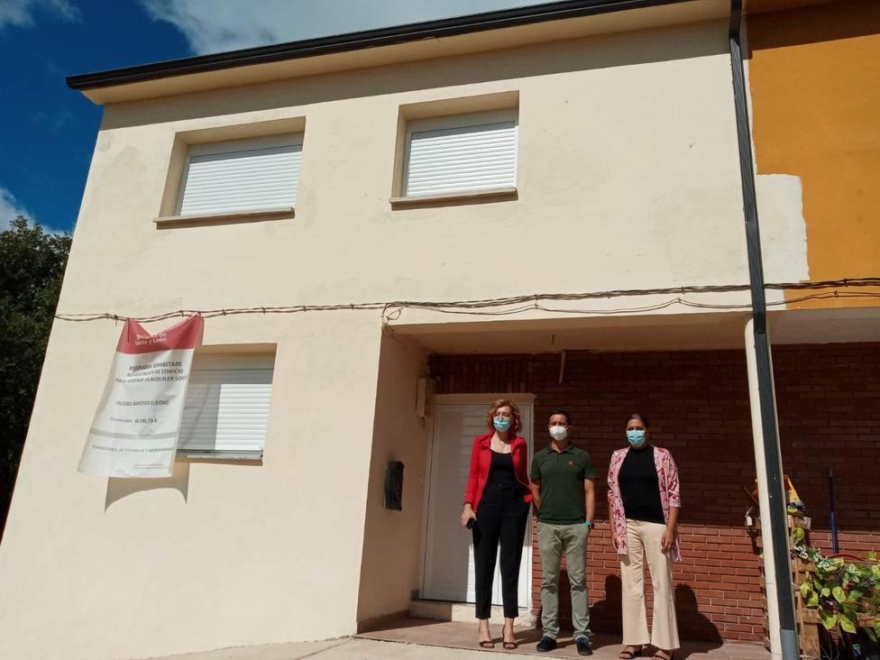 La Junta invierte 50.000 euros en la rehabilitación de una vivienda de Ocero (Sancedo) para alquiler social