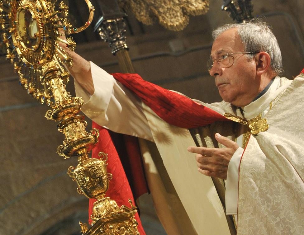Don Antonio Algora, obispo emérito de la Diócesis de Ciudad Real, fallecido hoy
