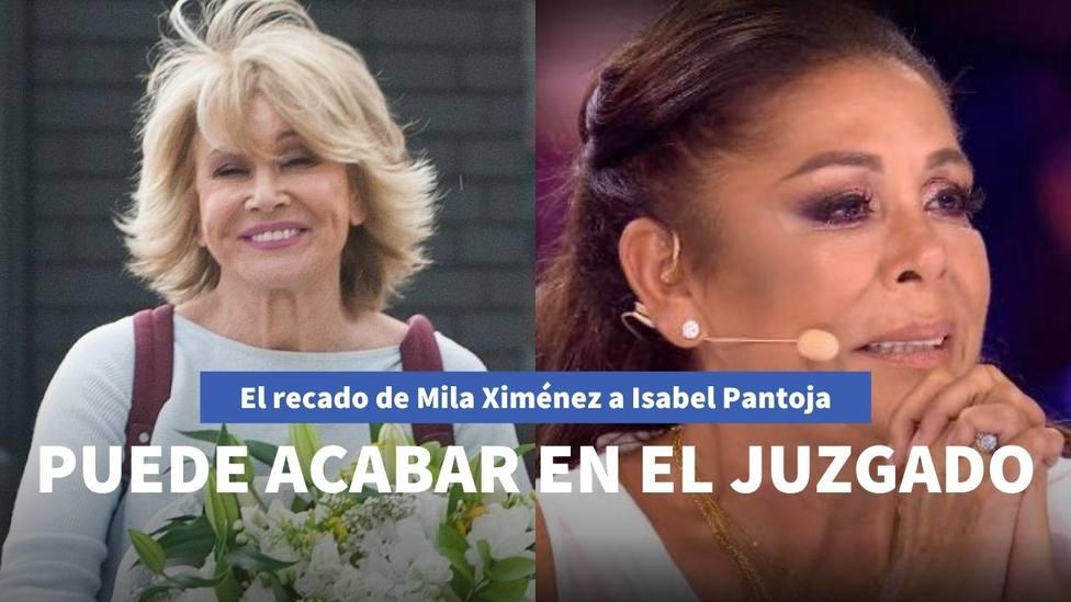 Mila Ximénez manda un recado en 'Sálvame' a Isabel Pantoja tras las palabras sobre Kiko Rivera