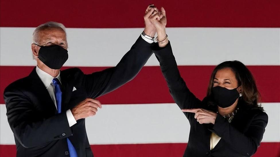 Biden y Kamala Harris