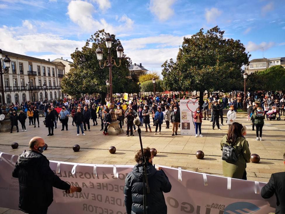 """Los hosteleros de Lugo piden ayuda también """"al Gobierno, a las diputaciones y a los ayuntamientos"""""""