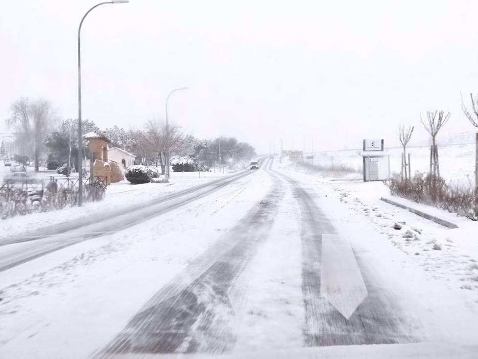 Temporal.- Filomena afecta ya a más de 6.000 kilómetros de la red de Carreteras de C-LM