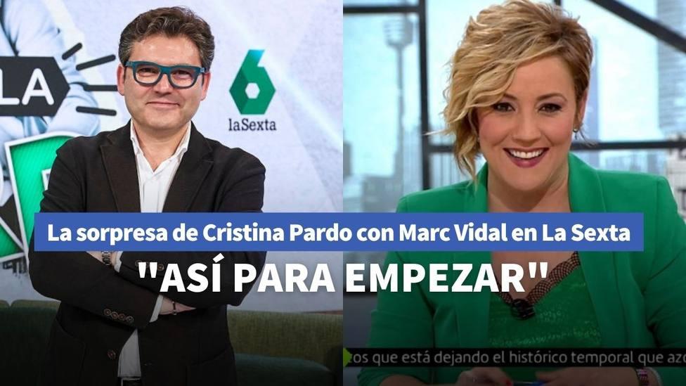 Cristina Pardo y Marc Vidal