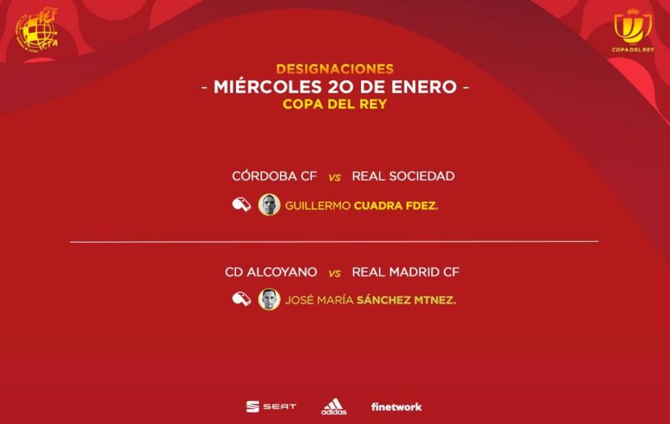 Sánchez Martínez para el CD Alcoyano - Real Madrid